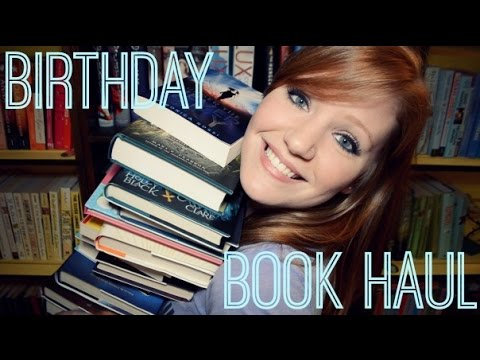 BIRTHDAY BOOK HAUL + UNBOXING!