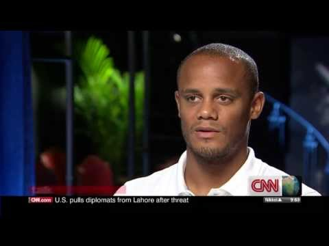 Vincent Kompany Interview part 1/3 (CNN Talk Asia)