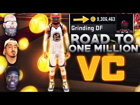 ROAD TO 1 MILLION VC w/ BEST GUARD BUILD AT THE STAGE!! Ft Gman & ImDavisss -NBA 2K20 After Patch 10
