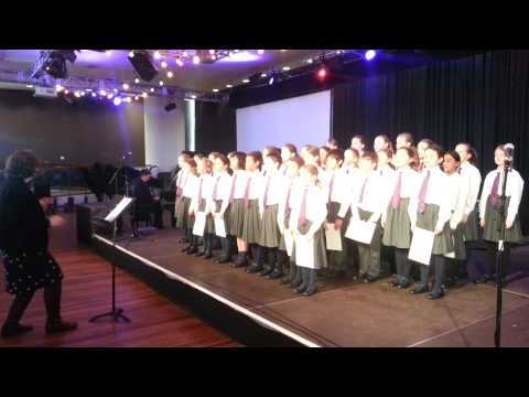 Orchard House School Senior Choir at the MFY Regional Festival - 02/25/2014