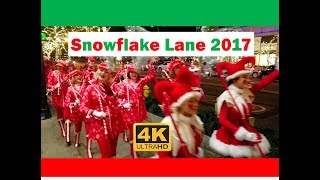 Snowflake Lane Bellevue Christmas Parade 121717 Seattle Washington