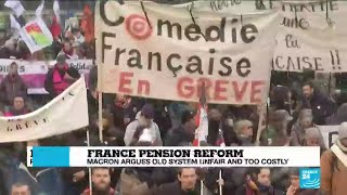 France pension reform: Thousands take to the streets to protest as government adopt plan