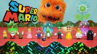 Super Mario Bros Toys: Super Mario Action Figure Collection // Fuzzy Puppet