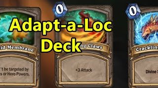 Hearthstone Fun Decks: Adaptaloc (Wild Adapt Deck)