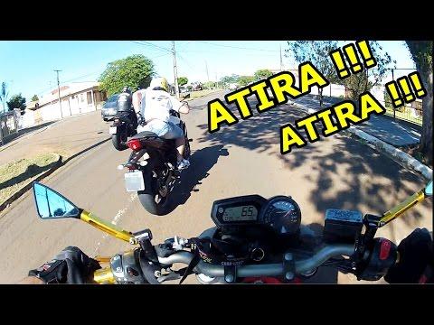PERSEGUIÇÃO DE MOTO E TIROS QUASE MATOU O MOTOQUEIRO #12
