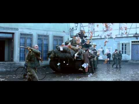 Fury TV SPOT - #1 Movie in America (2014) - Brad Pitt, Shia LaBeouf War Drama HD