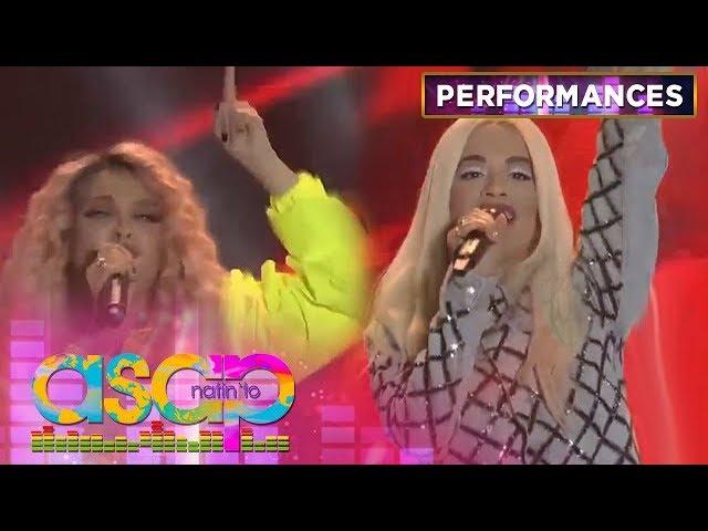 Rita Ora performs with Soul Supreme KZ Tandingan! | ASAP Natin 'To