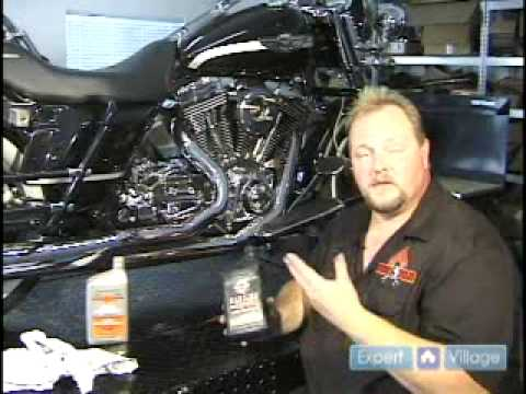 Howto Check Harley Davidson Motorcycle Oil Youtube
