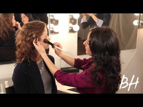 Watch: How to Get the Windswept Blush Look