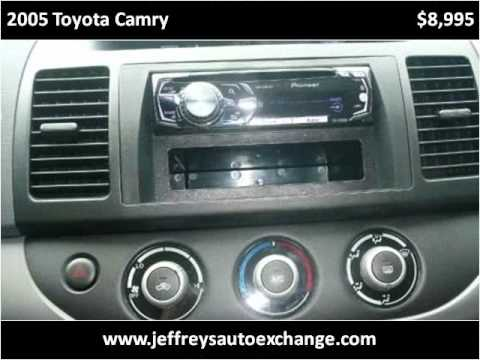 2005 Toyota Camry Used Cars Scottsburg IN