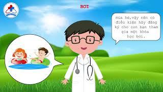 Tập 3- Bí quyết chăm sóc sức khỏe mùa hè cho bé