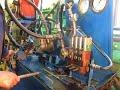 """Гидрораспределитель Р80-3/4-222 МТЗ-80 """"КУН"""". Испытание и регулировка на испытательном стенде"""