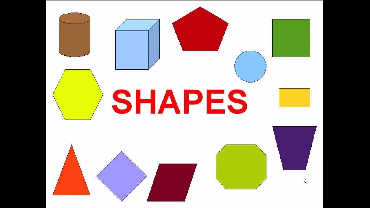 Inglés para niños. Formas / Shapes for kids - YouTube
