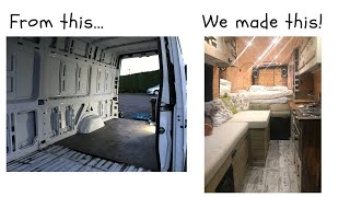 Make a Van a Home!