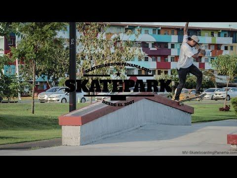 Montaje de Parque - Skateboarding Panama