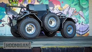 [HOONIGAN] DT 091: Tank vs Miata (Tug-of-War)