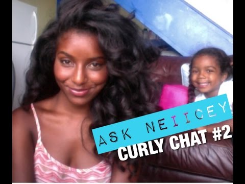 Curly Chat #2: Straight Hair, Confidence, My Daughter?