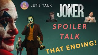 Joker Spoiler In-Depth Discussion | LET'S TALK | Was it Real? | THAT ENDING