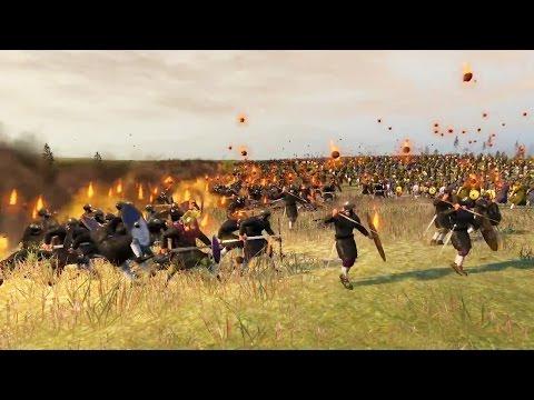 6000 Naft Throwers vs 2000 Eastern Roman Legio Attila Total War
