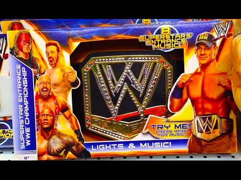 Wwe Championship Superstar Entrance Belt With Lights & Music [john Cena] Product Review video