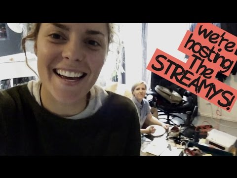 FriDIARY: HANNAH AND I ARE HOSTING THE STREAMYS // itsGrace