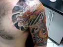 tattoo invaders - dragão chines