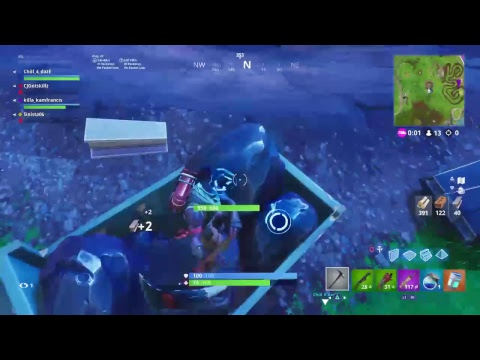 First fortnite game with CJgotskill!!!!!