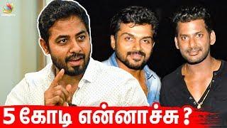 Nasser, Karthi செய்த தவறு என்ன? Actor Aari Interview I Vishal, Nadigar Sangam Election