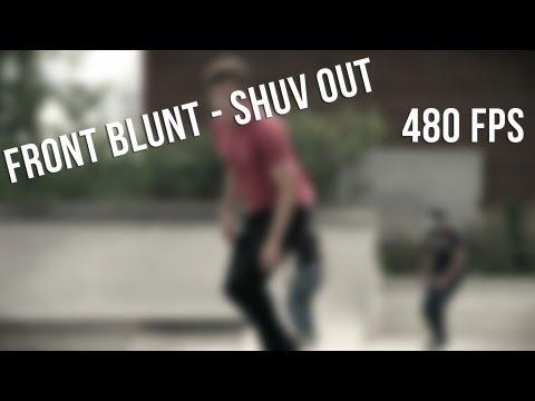 Super Slow Mo - Front Blunt - Shuv Out (480 FPS)