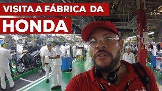 Visita a FÁBRICA da HONDA em Manaus