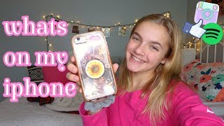 another...WHATS ON MY IPHONE!|lydia walls