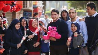 بمناسبة عيد الحب... شاهد مغامرة في الشارع المصري ..