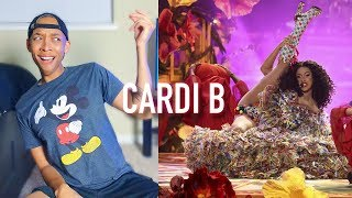 """Cardi B performs """"I Like It"""" Live @ 2018 American Music Awards Performance 