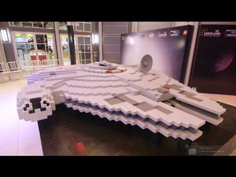 LEGO® Star Wars™ – World's Largest Millennium Falcon built at LEGOLAND® MALAYSIA RESORT