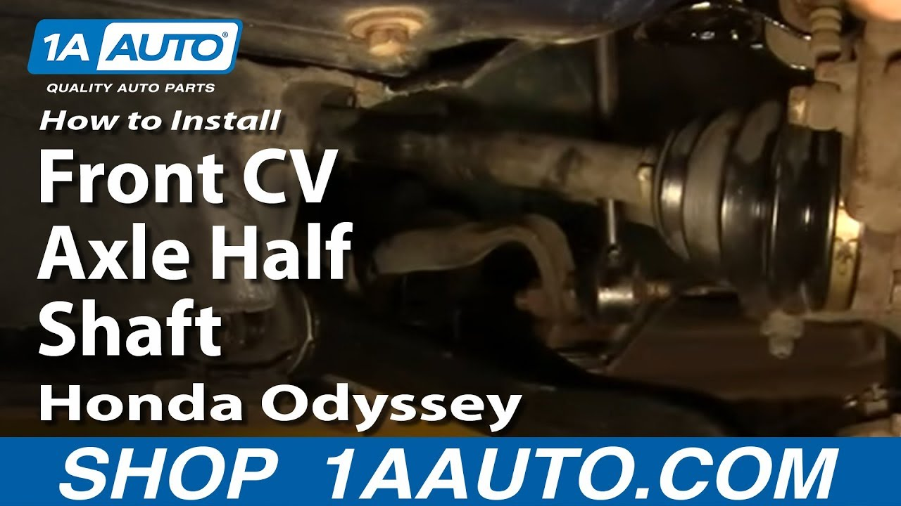 How To Install Replace Front Cv Axle Half Shaft Honda