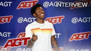 Interview: Joseph Allen Recalls The Moment Terry Crews Picked Him Up! - America's Got Talent 2019