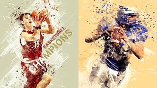 Sport Modern Art Photoshop Action Tutorial