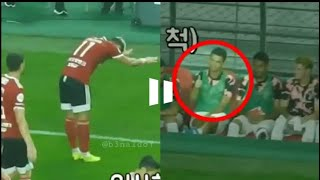 Brazilian Cesinha giving tribute to the Greatest by imitating his celebration