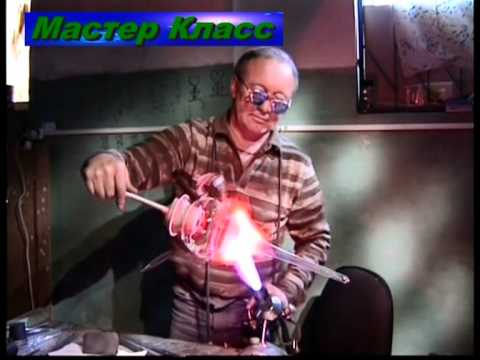 Стеклодув  blowing glass,art glass, Дворцевой Александр