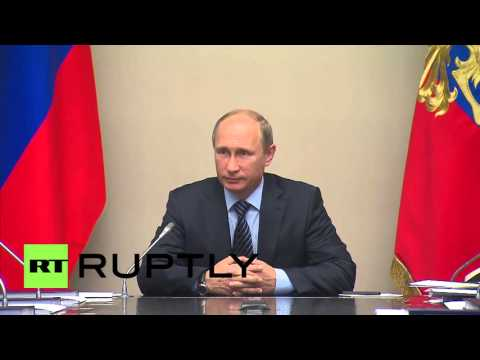 Russia: Putin meets with Security Council to prep for UN General Assembly