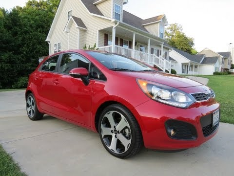 2012 Kia Rio SX Hatchback Start Up. Exhaust. Test Drive. and In Depth Review