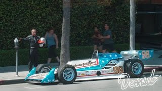 We parked a race car at an expired meter prank | Donut Media