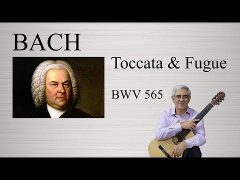 Бах Иоганн Себастьян - BWV 565 - Токката и фуга (Hii)