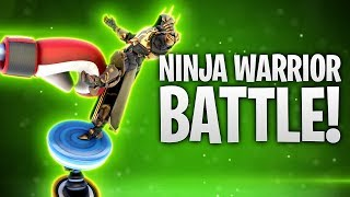 NINJA WARRIOR BATTLE mit SKIN KAUFVERBOT! 🐱‍👤 | Fortnite: Battle Royale