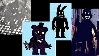 Scribblenauts Unlimited Speed Create Shadow Freddy & Bonnie (FNaF 2) in Object Editor