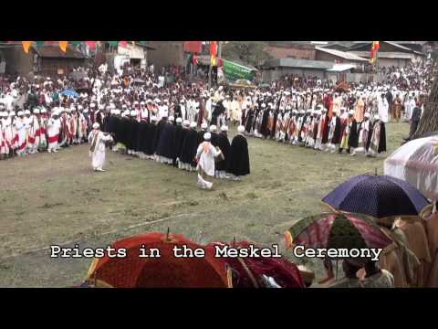 Ethiopia Lalibela rock hewn Churches and Meskel Festival