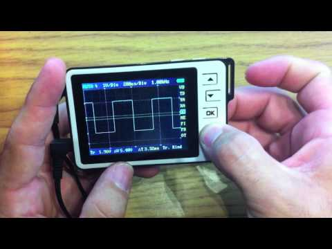 DSO Nano v2 Walkthrough and the BenF 3.62 Firmware