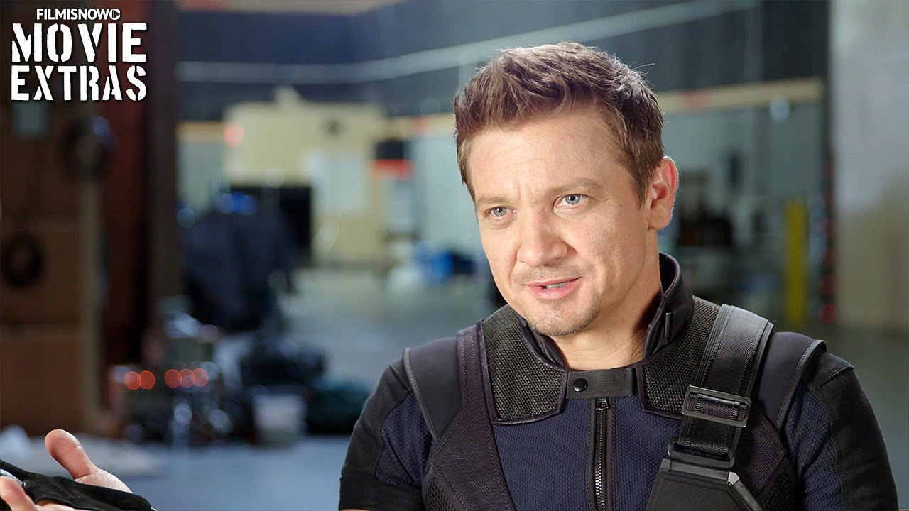 Captain America: Civil War | On-set with Jeremy Renner 'Clint Barton  Hawkeye' [Interview]