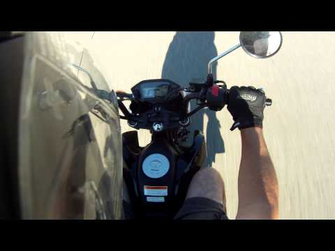 Honda Grom MSX125 Top Speed run