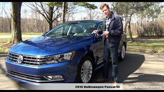 Review: 2016 Volkswagen Passat SE w/ Technology